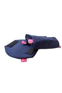 Shamsher Navy Blue Flexy+Lumbar Support+Droolers