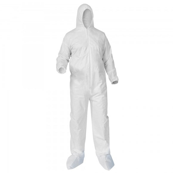 Reinforced Disposable Coverall