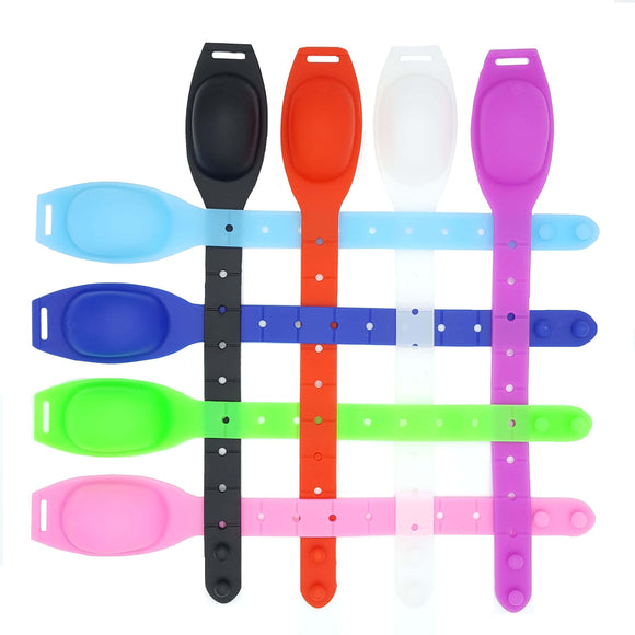 BUY 1 Get 1: Sanitizer Silicone Wristband with  bottle
