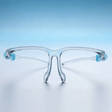 Face Shield with Glasses Frame - Adult Size