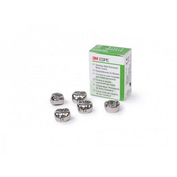 3M ESPE™ Stainless Steel Crowns for Permanent Molars