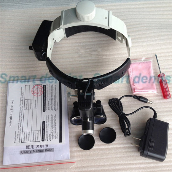 LemonDental Headlamp Magnifier With LED Lamp