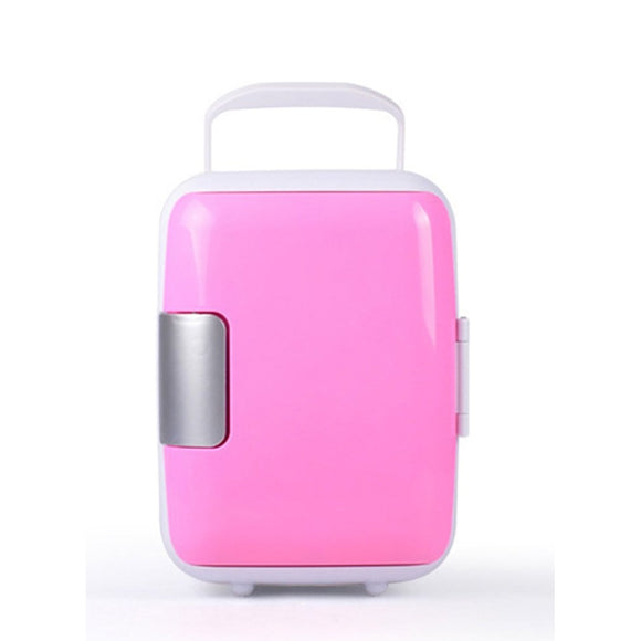 ALBABKC Eco-Friendly Portable Mini Cooler & Cosmetic Fridge
