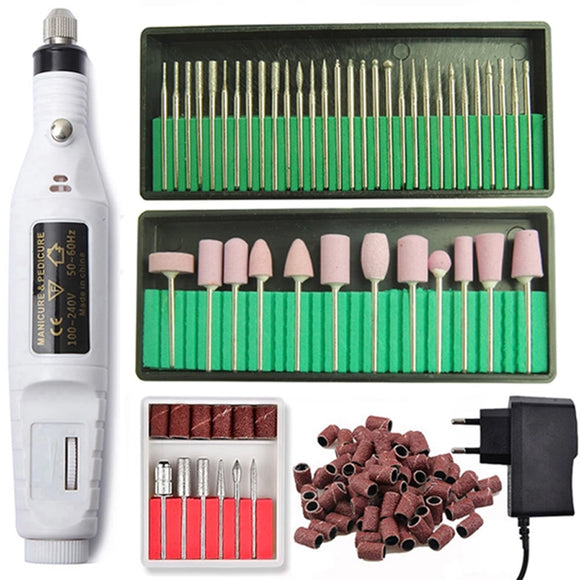 Nail Pedicure Milling Cutting Sets