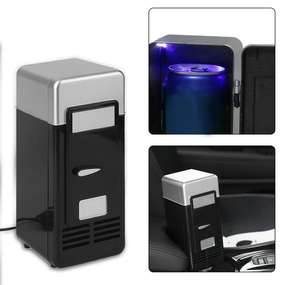ALBABKC USB Portable Mini Cooler & Cosmetic Fridge