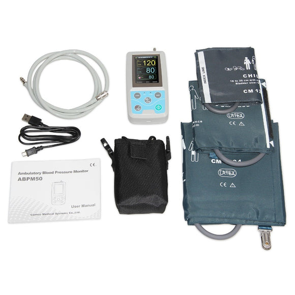 CONTEC Ambulatory Blood Pressure Holter Monitor