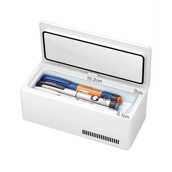 BEEMYI Insulin Storage Rechargeable Mini Refrigerator