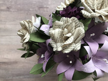 Load image into Gallery viewer, Pride and Prejudice Book Paper Flower Wedding Bouquet