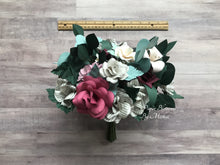 Load image into Gallery viewer, Jane Eyre Paper Flower Wedding Bouquet