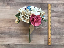 Load image into Gallery viewer, Pride and Prejudice Book Page Bouquet