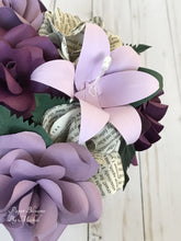 Load image into Gallery viewer, Jane Eyre Book Page Bouquet