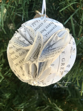 Load image into Gallery viewer, The Great Gatsby Book Page Paper Christmas Ornament