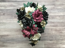Load image into Gallery viewer, Edgar Allan Poe Gothic Wedding Paper Flower Bouquet