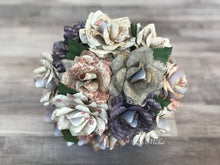 Load image into Gallery viewer, Farmhouse Shabby Chic Paper Flower Bouquet