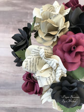 Load image into Gallery viewer, Edgar Allan Poe Book Page Bouquet