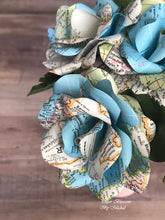 Load image into Gallery viewer, Map Paper Flower Mini-Bouquet
