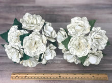 Load image into Gallery viewer, Sheet Music Paper Flower Mini Bouquet