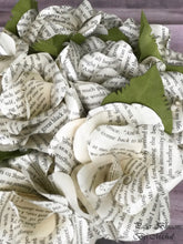 Load image into Gallery viewer, Great Expectations Book Page Paper Flower Bouquet