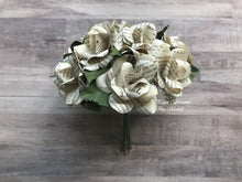 Load image into Gallery viewer, Harry Potter Book Page Paper Flower Bouquet