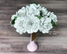 Load image into Gallery viewer, Jane Eyre Book Page Paper Flower Bouquet