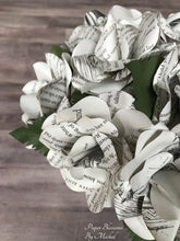 Load image into Gallery viewer, Alice in Wonderland Book Page Bouquet