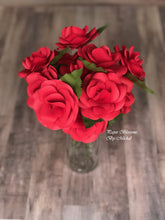 Load image into Gallery viewer, Bouquet of Red Paper Roses