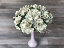 Load image into Gallery viewer, The Secret Garden Book Page Paper Flower Bouquet