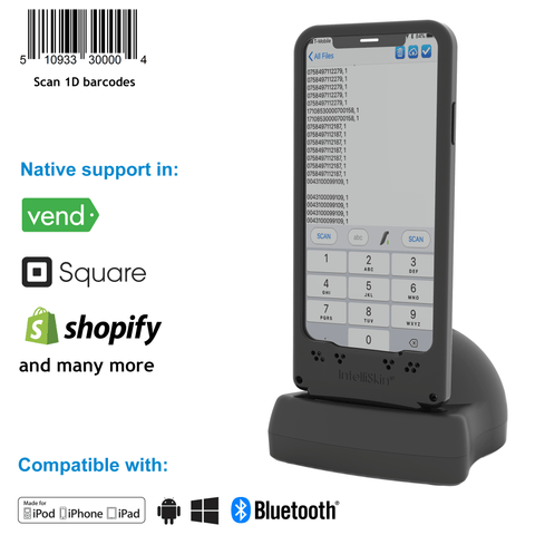 DuraSled DS800, Linear Barcode Scanning Sled for iPhone