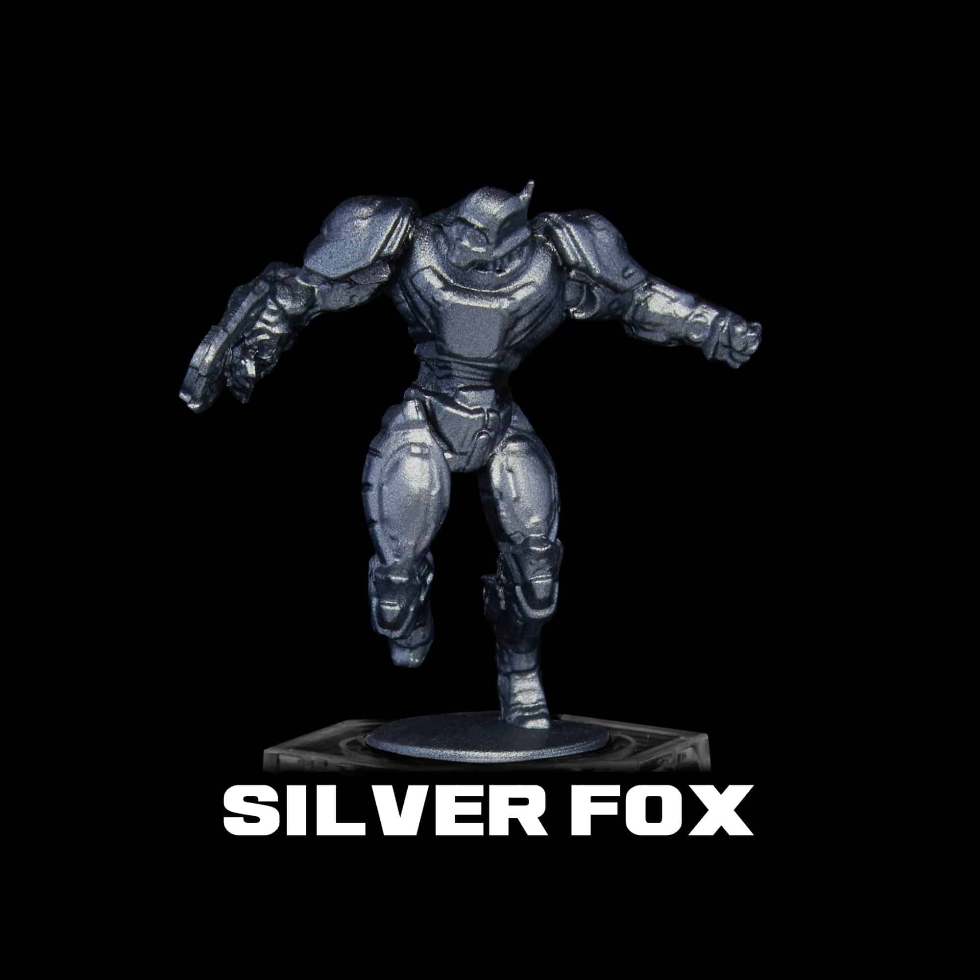 Turbo Dork Paint - Silver Fox - Metallic
