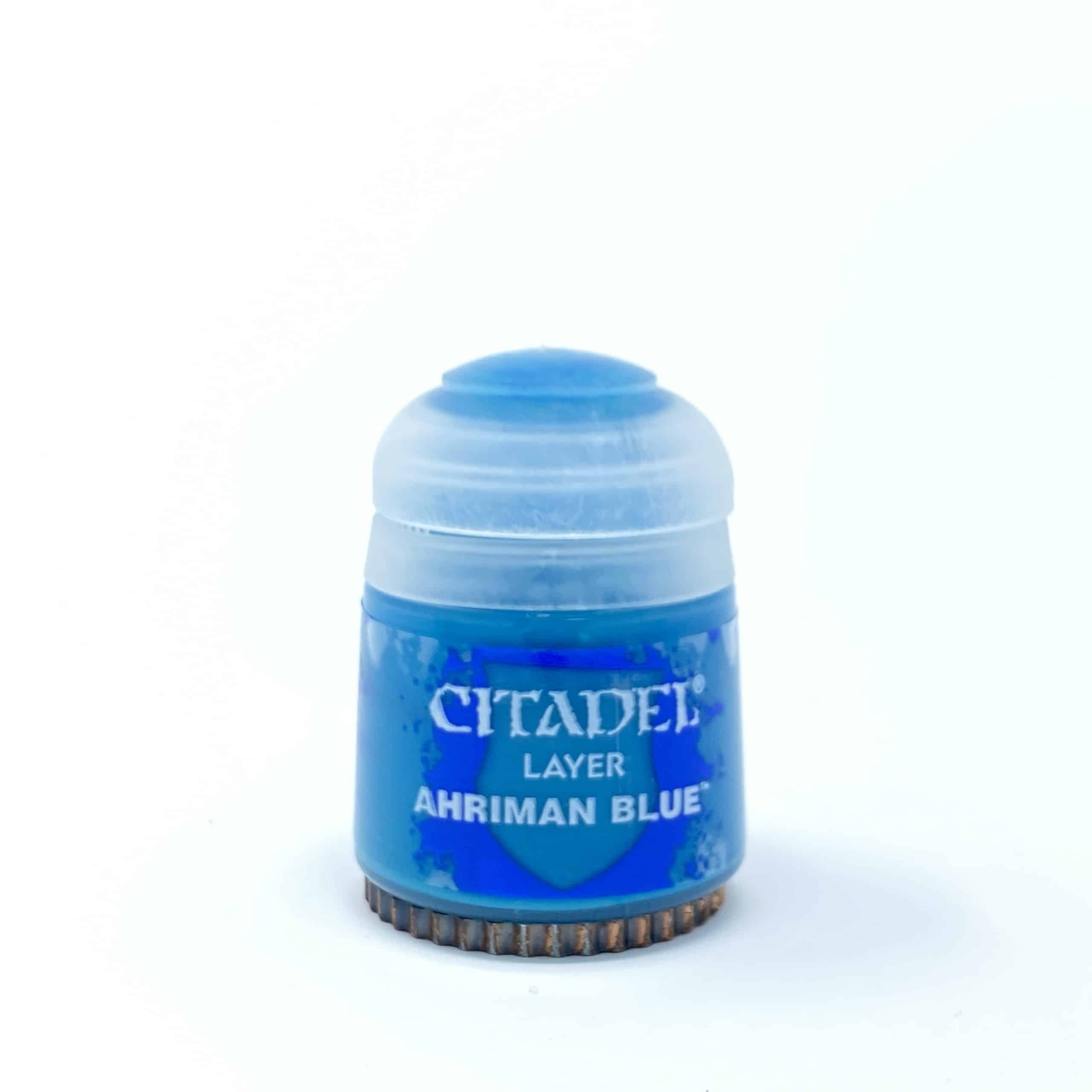 Citadel Paint - Layer: Ahriman Blue