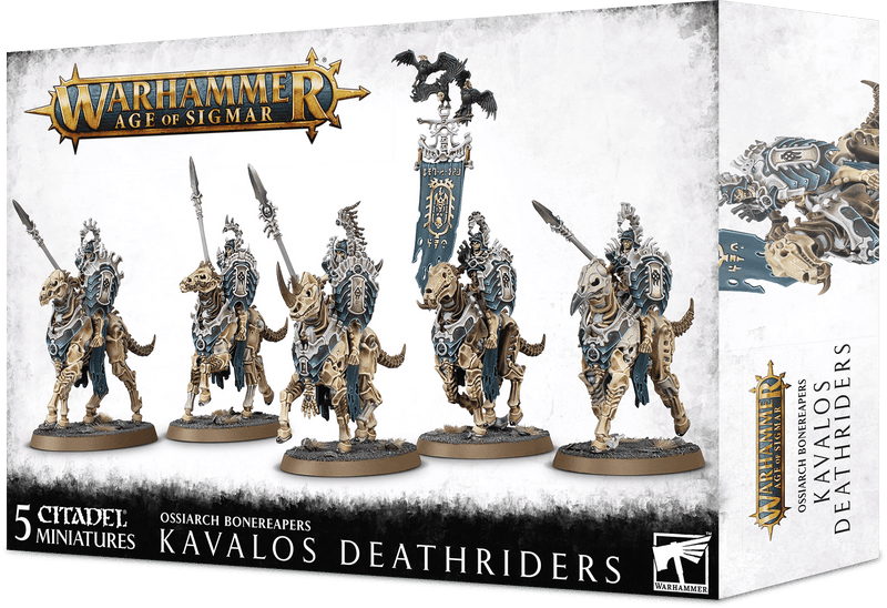 Ossiarch Bonereapers - Kavalos Deathriders