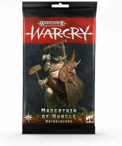 Warcry - Maggotkin of Nurgle Rotbringers Cards