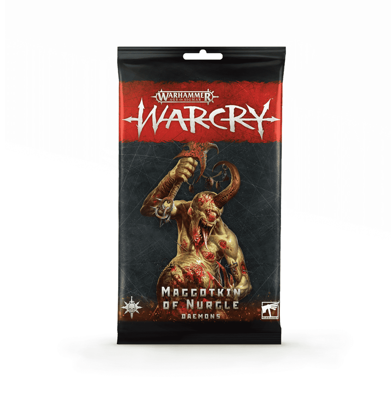 Warcry - Nurgle Daemons Card Pack
