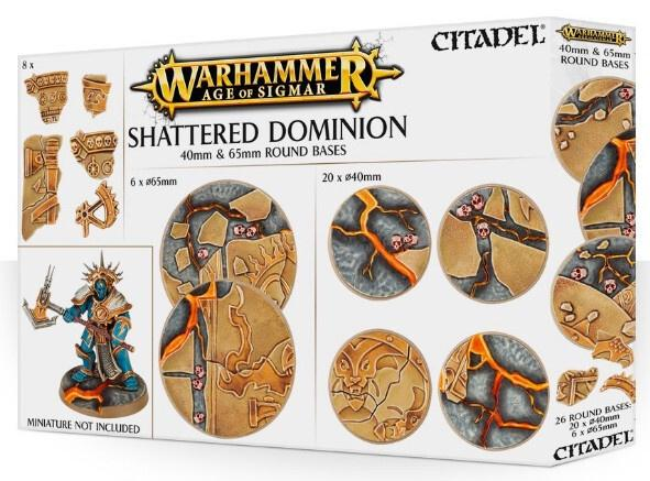 Shattered Dominion - 40 & 65mm Round Bases