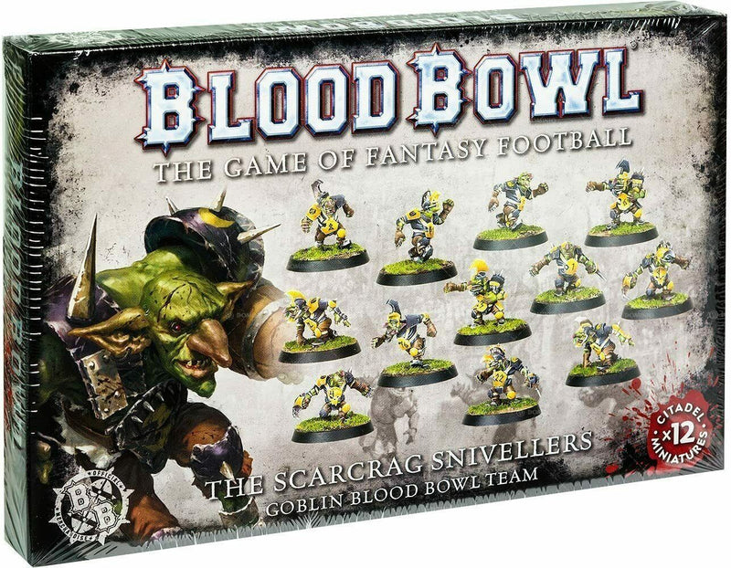 Blood Bowl - The Scarcrag Snivellers - Goblin Blood Bowl Team