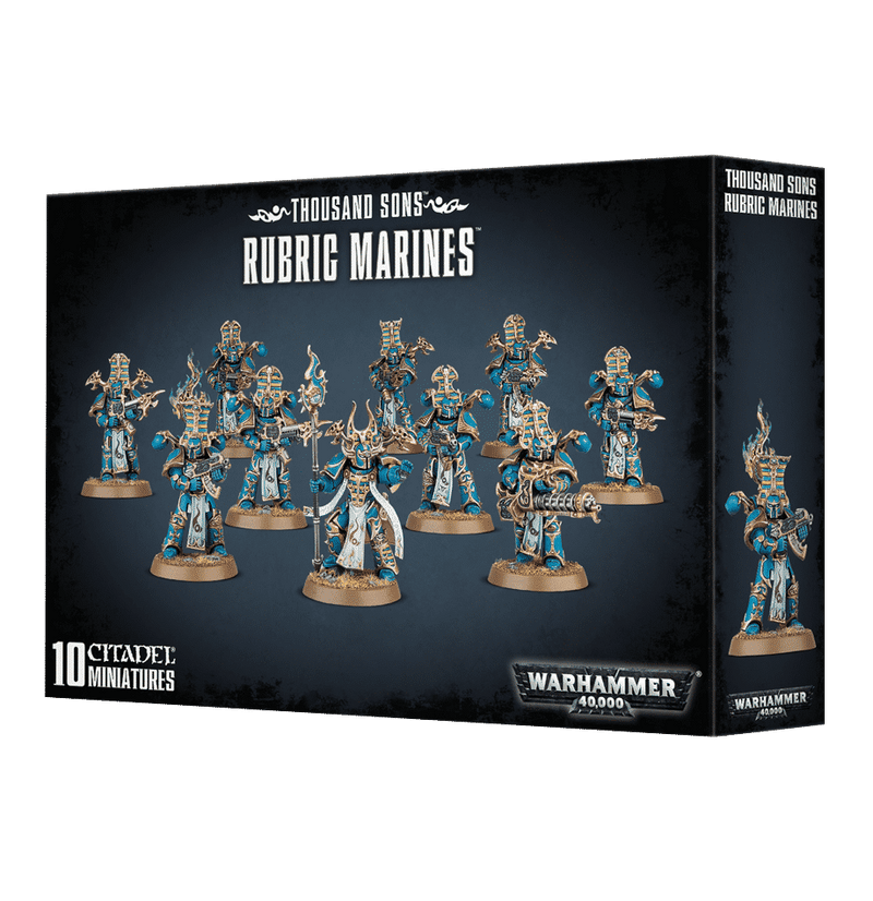 Thousand Sons - Rubric Marines