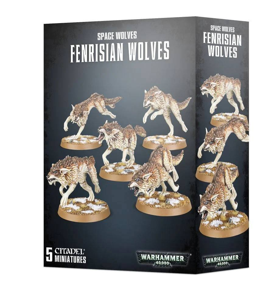 Space Wolves - Fenrisian Wolves