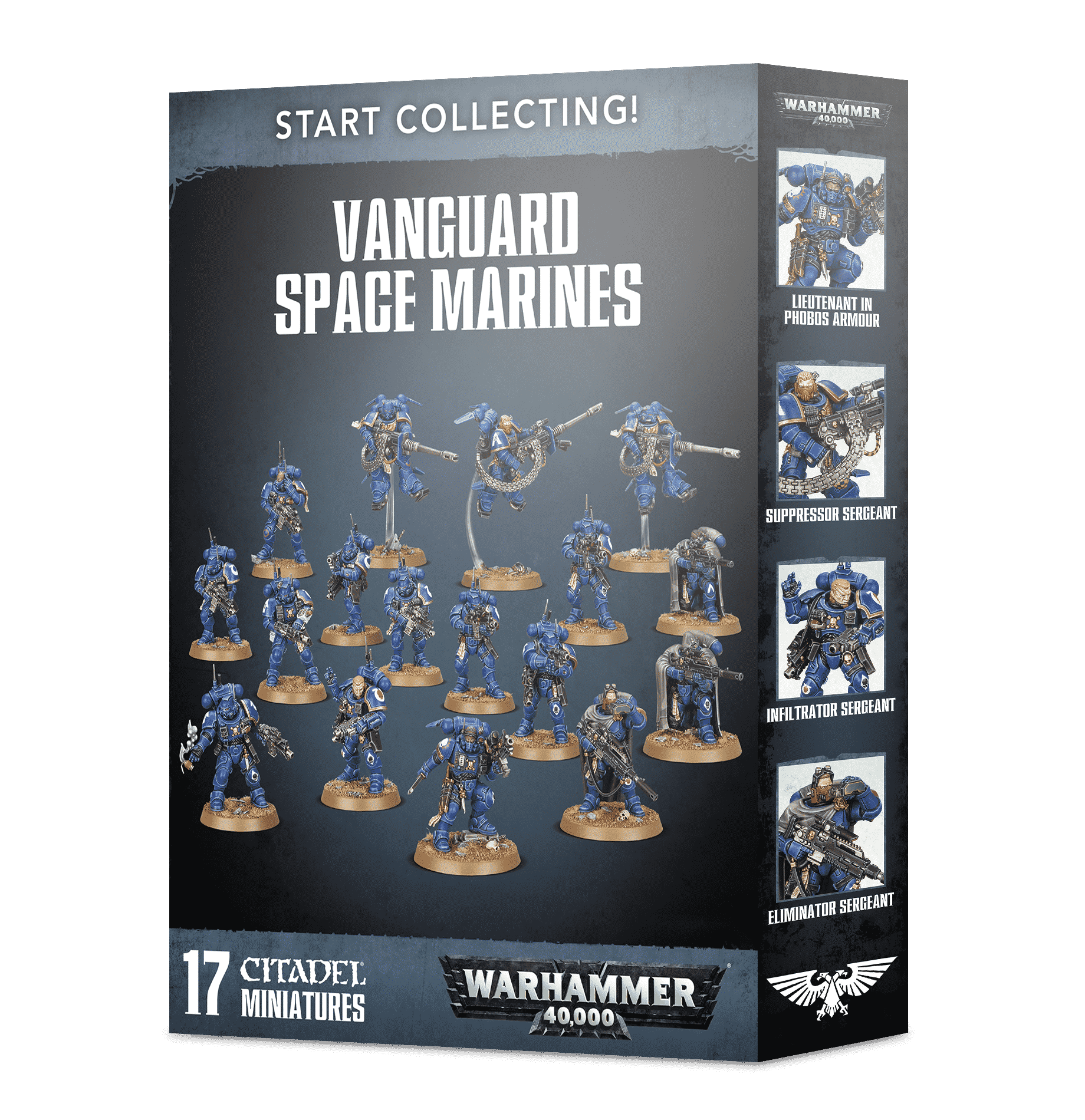 Vanguard Space Marines - Start Collecting!