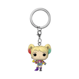 Funko Pop! Keychain- Birds of Prey- Harley Quinn (Caution Tape)