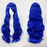 32inch Cheap Long Wavy Wig With Bangs Halloween