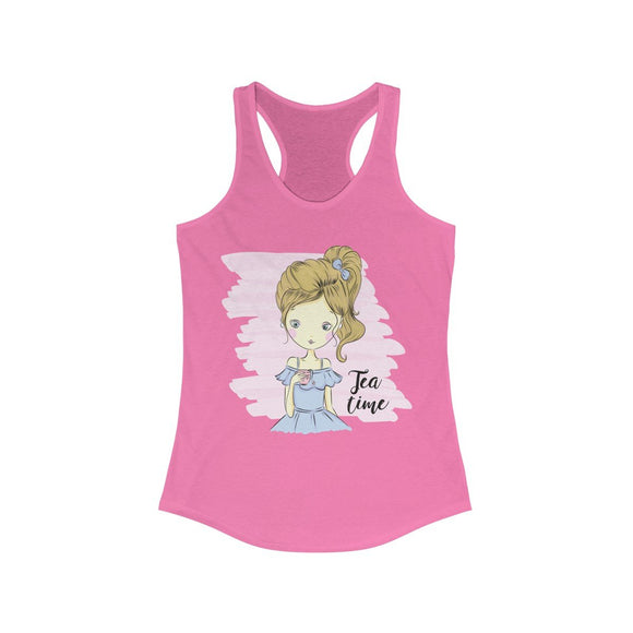 Girl Series - Tea Time Racerback Tank Top