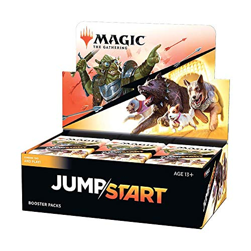 Jumpstart Booster Box | Magic: The Gathering | 24 Booster Packs | 20 Cards Per Pack Including Basic Land Cards
