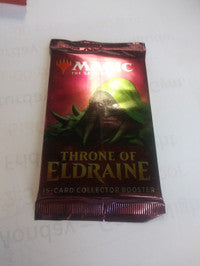 Magic the Gathering Throne of Eldraine Collector Booster Pack 15 Card per Pack