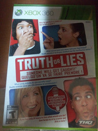 Truth or Lies (Game Only) XBOX 360