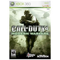 Call of Duty 4: Modern Warfare Xbox 360 Game