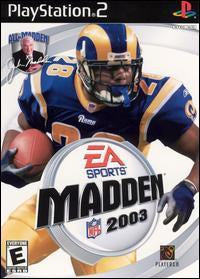 Madden Football 2003 PS2