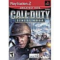 Ps2-call of Duty finest hour