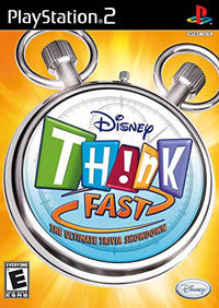 PS2 Disney Think Fast SEALED