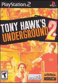 Tony Hawk's Underground 2 PlayStation 2 Game with Case and Manual