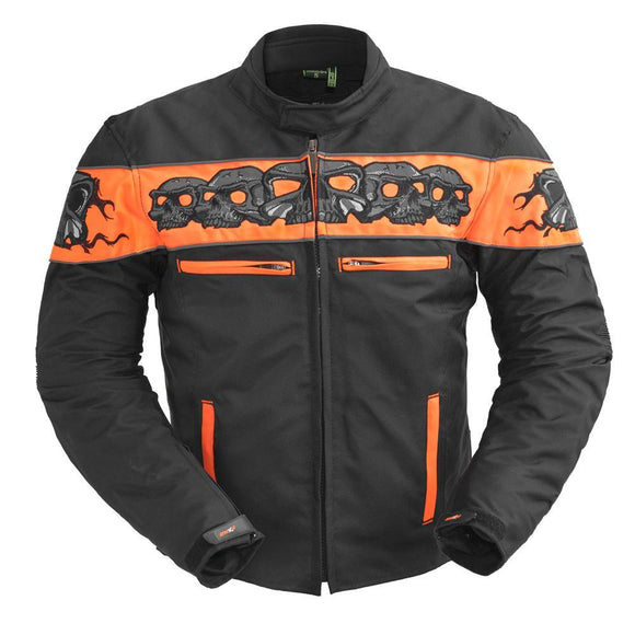 Dragon Skull - Men's Codura Motorcycle Jacket